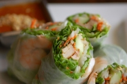 Summer Roll with Peanut Sauce