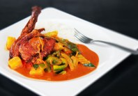 Pineapple Duck Curry